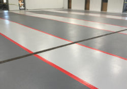 Broadcast Systems Floor Coatings