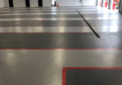 Firehouse flooring coatings