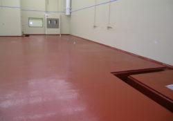 Thermal Shock Resistant floor coatings