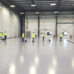 Floor coatings for aviation hangar