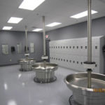 Commercial flooring easy to clean