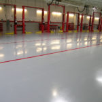industrial flooring easy to clean