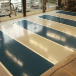 Fire Station Bay Flooring
