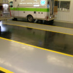 Fire Station EMS Bay Flooring