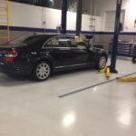 Service Bay Automotive Flooring