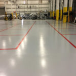 Tech production flooring